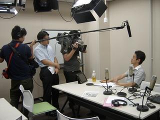テレビ東京取材の様子